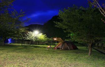川代公園キャンプ場